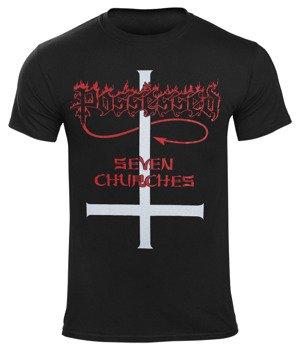 koszulka  POSSESSED - 7 CHURCHES
