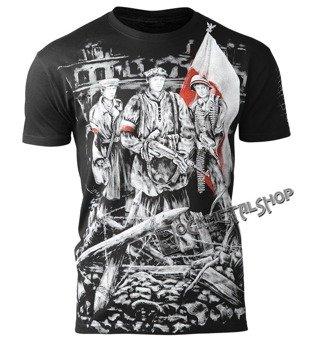koszulka POWSTANIE WARSZAWSKIE czarna