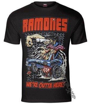 koszulka RAMONES - OUTTA HERE