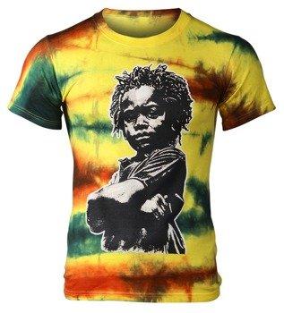 koszulka RASTA CHILD barwiona