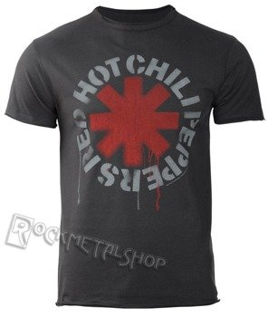 koszulka RED HOT CHILI PEPPERS - LOGO CHARCOAL
