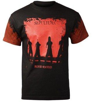 koszulka SEPULTURA - BLOOD ROOTED barwiona