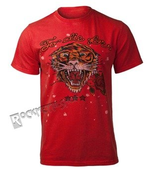 koszulka SHIROI NEKO - TIGER STUDIO (RED)