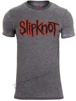 koszulka SLIPKNOT -  LOGO BURNOUT