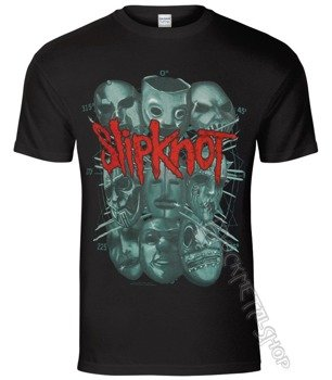koszulka SLIPKNOT - MASKS 2