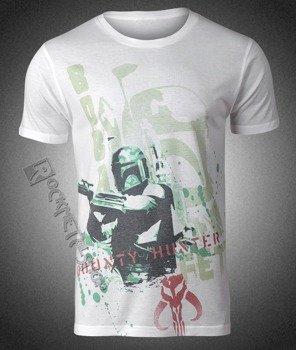 koszulka STAR WARS - BOBA FETT STENCIL