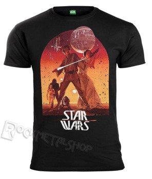 koszulka STAR WARS - SUNSET POSTER