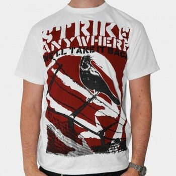 koszulka STRIKE ANYWHERE - BLACKBIRD (WHITE)