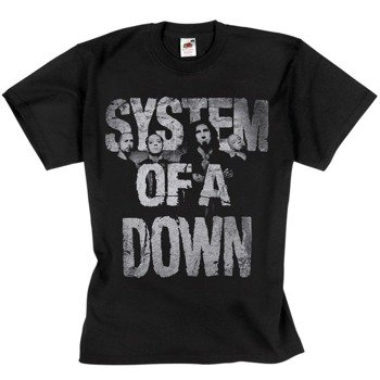 koszulka SYSTEM OF A DOWN - BAND