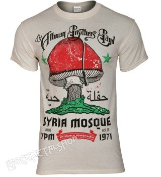 koszulka THE ALLMAN BROTHERS BAND - SYRIA MOSQUE 1971