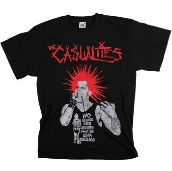 koszulka THE CASUALTIES - NO QUIERO...