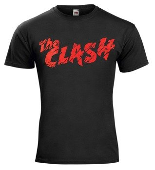 koszulka THE CLASH - RED LOGO