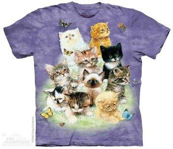 koszulka THE MOUNTAIN - 10 KITTENS, barwiona