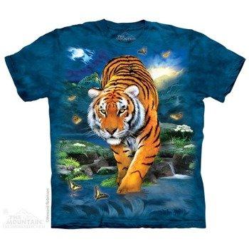 koszulka THE MOUNTAIN - 3D TIGER, barwiona
