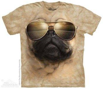 koszulka THE MOUNTAIN - AVIATOR PUG, barwiona
