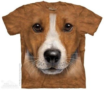 koszulka THE MOUNTAIN - BIG FACE JACK RUSSELL, barwiona