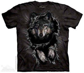 koszulka THE MOUNTAIN - BREAKTHROUGH WOLF, barwiona