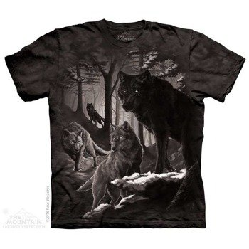 koszulka THE MOUNTAIN - DIRE WINTER, barwiona
