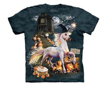 koszulka THE MOUNTAIN - HALLOWEEN UNICORN, barwiona