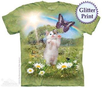 koszulka THE MOUNTAIN - KITTYS DREMLAND, barwiona