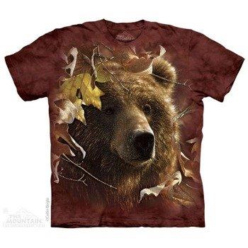 koszulka THE MOUNTAIN - LEGEND OF FALL ANIMALS, barwiona