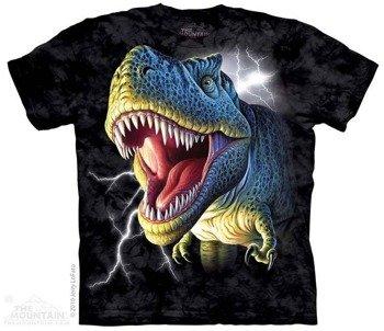 koszulka THE MOUNTAIN - LIGHTNING REX, barwiona
