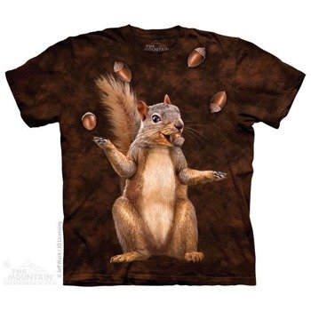 koszulka THE MOUNTAIN - NUT JUGGLER , barwiona