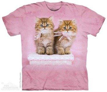koszulka THE MOUNTAIN - PRETTY KITTENS, barwiona