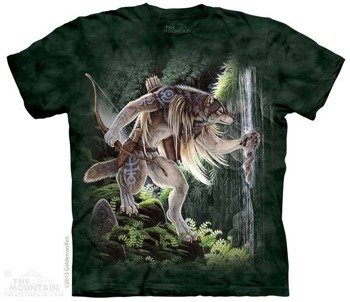koszulka THE MOUNTAIN - SACRED WATERS, barwiona