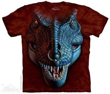 koszulka THE MOUNTAIN - T-REX FACE, barwiona