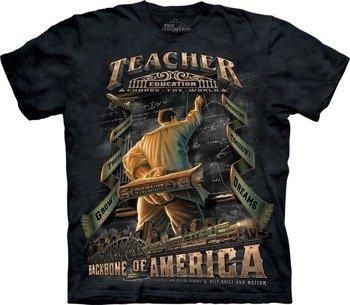 koszulka THE MOUNTAIN - TEACHERS, barwiona