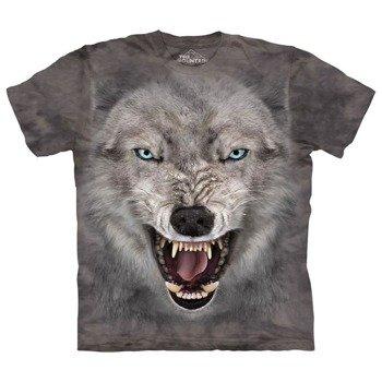 koszulka THE MOUNTAIN - TERROR WOLF, barwiona