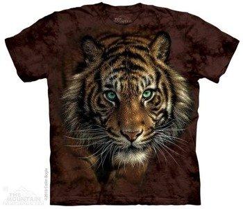 koszulka THE MOUNTAIN - TIGER PROWL, barwiona