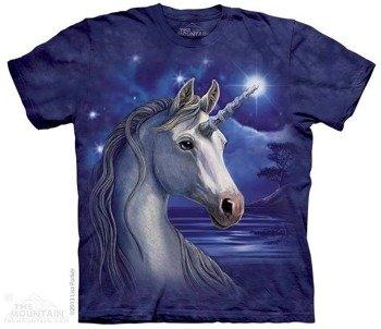 koszulka THE MOUNTAIN - UNICORN NIGHT, barwiona