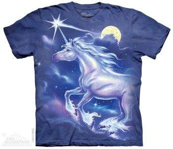koszulka THE MOUNTAIN - Unicorn, barwiona