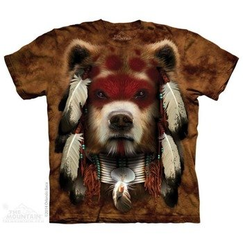 koszulka THE MOUNTAIN - WARRIOR BEAR, barwiona