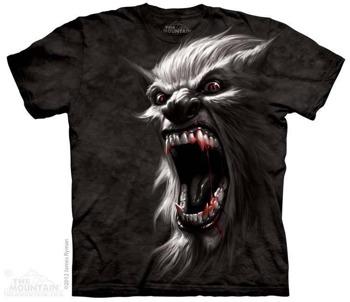 koszulka THE MOUNTAIN - WEREWOLF, barwiona