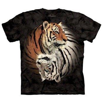 koszulka THE MOUNTAIN - YIN YANG TIGERS, barwiona