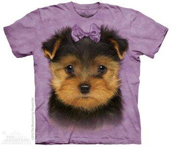 koszulka THE MOUNTAIN - YORKSHIRE TERRIER PUPPY, barwiona