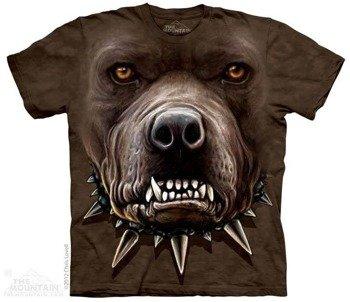 koszulka THE MOUNTAIN - ZOMBIE PIT BULL, barwiona