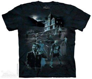 koszulka THE MOUNTAIN - ZOMBIES GHOTS, barwiona