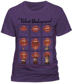 koszulka THE VELVET UNDERGROUND - LIPS