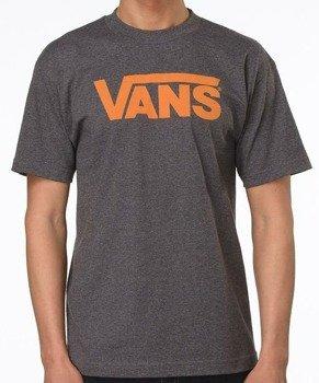 koszulka VANS - CLASSIC (CHARCOAL HEATHE)