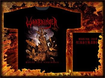 koszulka WARBRINGER - WAKING INTO NIGHTMARES