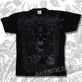 koszulka WEST COAST CHOPPERS - LIGHTNING czarna