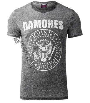 koszulka dekatyzowana RAMONES - PRESIDENTIAL SEAL BURNOUT