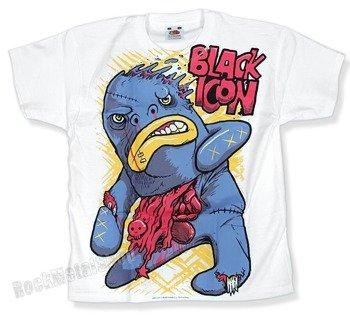 koszulka dziecięca BLACK ICON - BIGMO biała