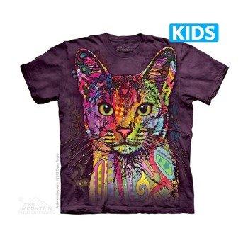 koszulka dziecięca THE MOUNTAIN - ABYSSINIAN, barwiona