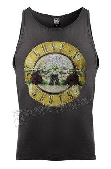 koszulka na ramiączka GUNS N' ROSES - DRUM charcoal