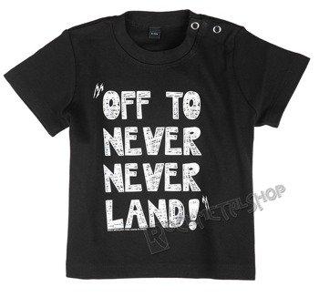 koszulka niemowlęca METALLICA - OFF TO NEVERLAND